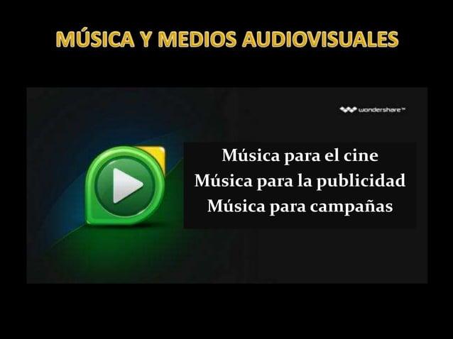 Música para el cine Música para la publicidad Música para campañas