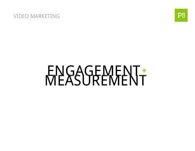 VIDEO MARKETING ENGAGEMENT MEASUREMENT +ENGAGEMENT MEASUREMENT +