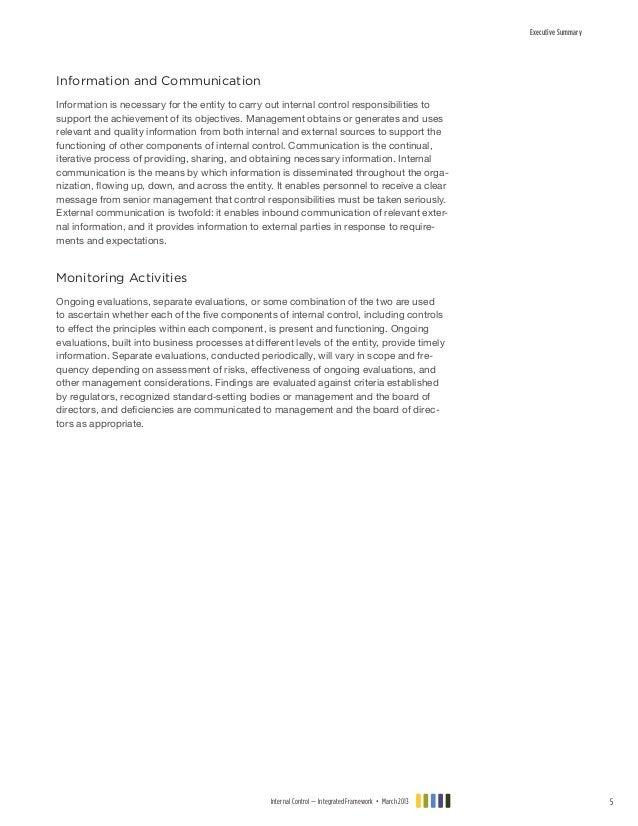 coso internal control integrated framework 2013 pdf