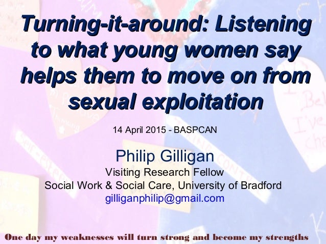 Turning It Around Listening To What Young Women Say Helps Them To Mo