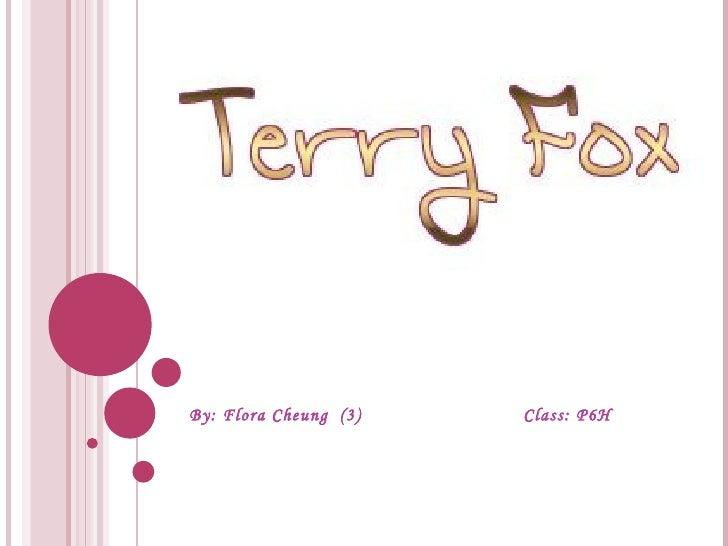 By: Flora Cheung  (3)  Class: P6H