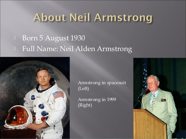 Terence's Neil Armstrong biography SIS