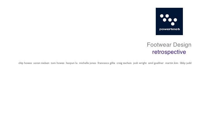 Footwear Design                                                                                                         re...