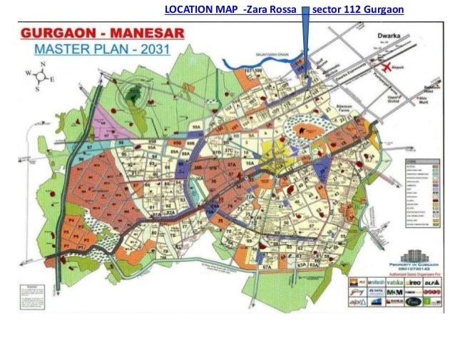 GOOGLE LOCATION MAP Zara Rossa sector 112 Gurgaon