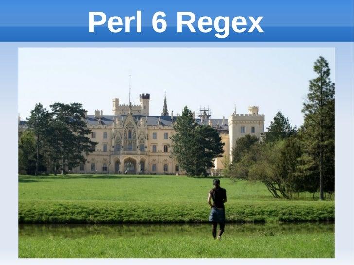 Perl 6 Regex