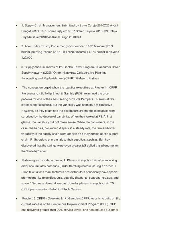 1. Supply Chain Management Submitted by Savio Cerejo 2010C25 AyushBhagat 2010C29 Krishna Bajaj 2010C37 Sohan Tulpule 2010C...
