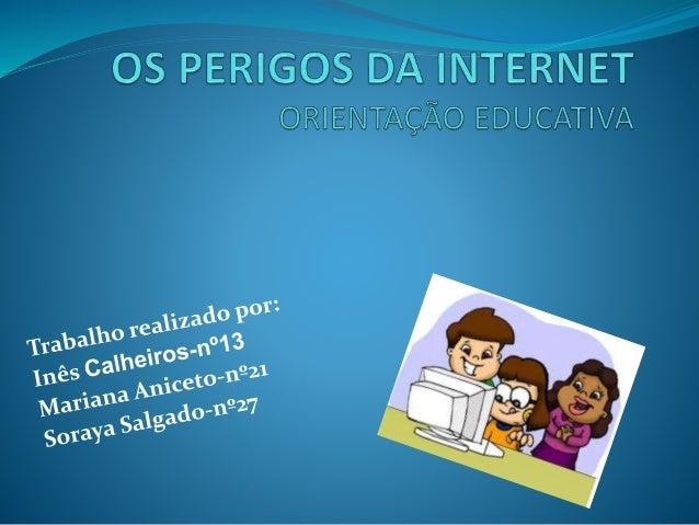 """O QUE É A INTERNET? A Internet, muitas vezes dita por """"net"""", é a maior rede de computadores do mundo. Permito-nos falar co..."""
