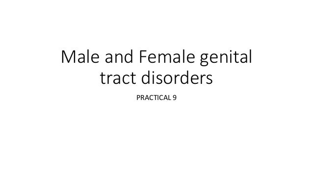 Male and Female genital tract disorders PRACTICAL 9
