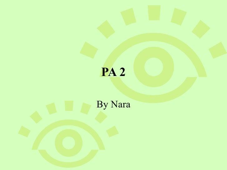 PA 2 By Nara