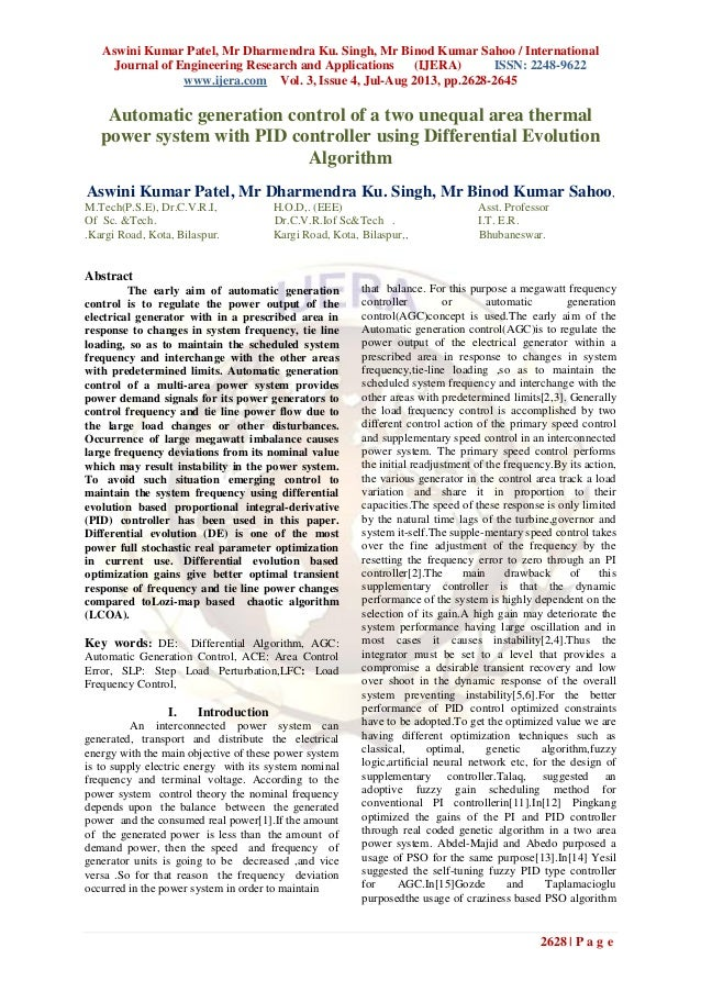 Aswini Kumar Patel, Mr Dharmendra Ku. Singh, Mr Binod Kumar Sahoo / International Journal of Engineering Research and Appl...