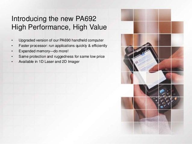 Unitech PA692 Mobile Computer, Versatility Redefined