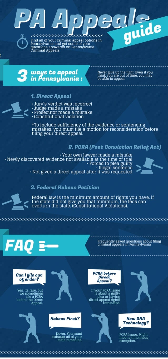 PA Appeals Infographic
