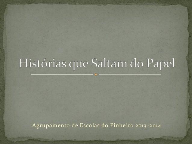 Agrupamento de Escolas do Pinheiro 2013-2014