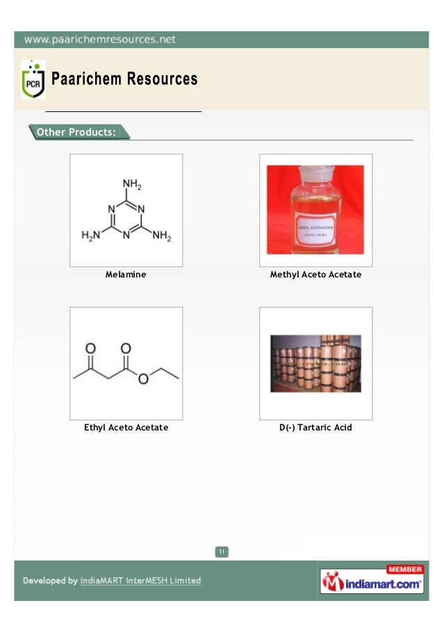Paarichem Resources, Mumbai, Chemical Compounds