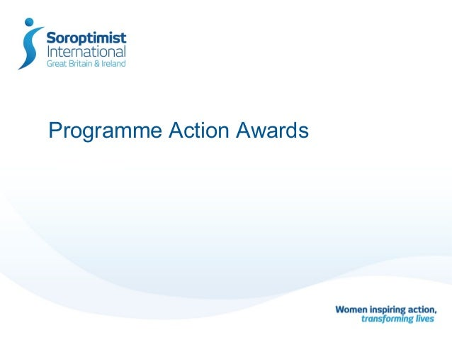 Programme Action Awards