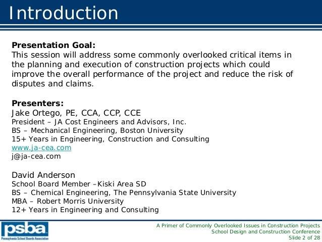 PASBA 2010 presentation Slide 2