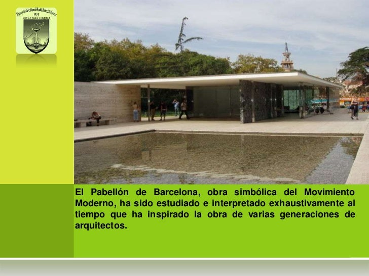 Pabellon de barcelona Slide 3