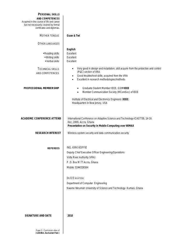 mother tongue cv