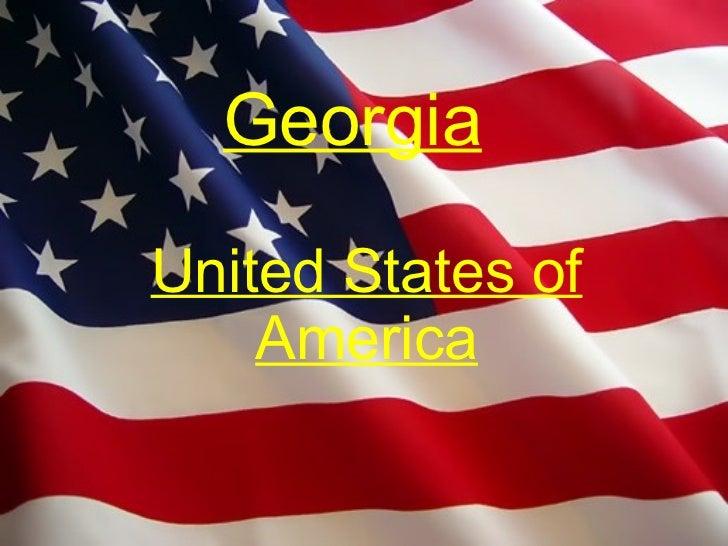 Georgia United States of America