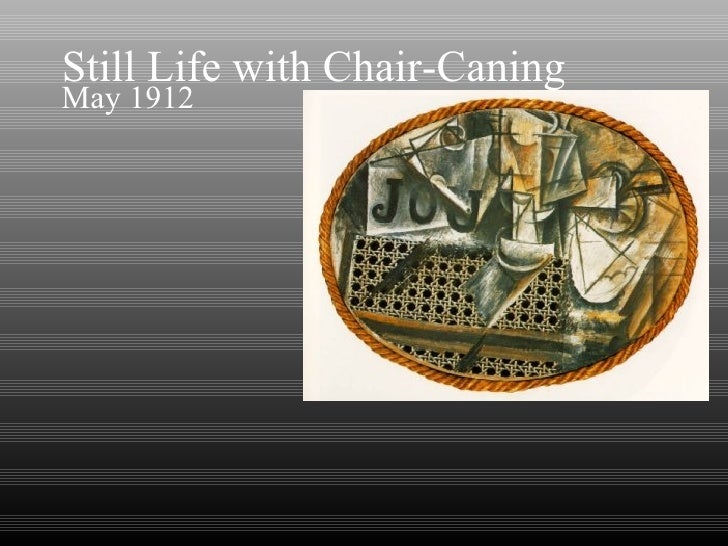 & Still Life with Chair-Caning May