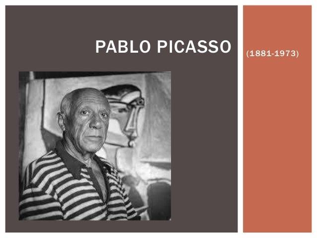 (1881-1973)PABLO PICASSO
