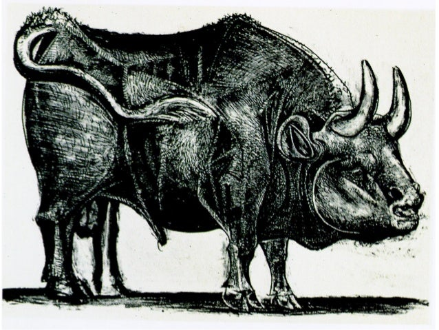 Pablo Picasso - Bulls  1-11 Slide 3