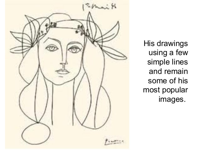 Famous Line Drawings