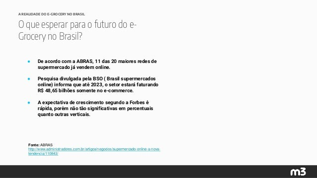 [Grocery & Drinks| Congresso do E-Commerce] Oportunidade de consumo pela internet de bens não duráveis. Slide 3