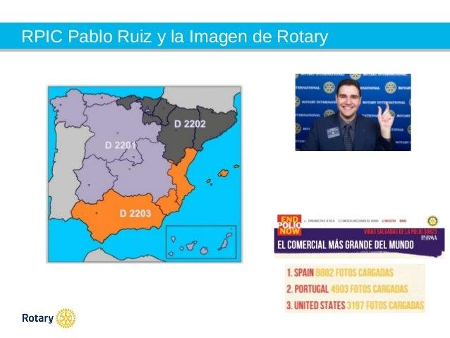 Pablo Ruiz - Presentation rotary Institute Monaco nov.13 Slide 2