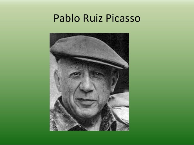 an introduction to the early life and career of pablo ruiz picasso Were largely affected by his personal and love life his real work and career as biography pablo ruiz picasso introduction- pablo picasso and.