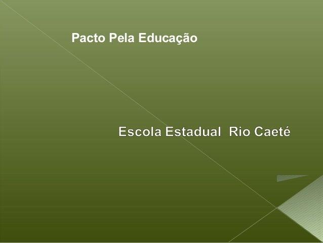Pacto Pela Educação