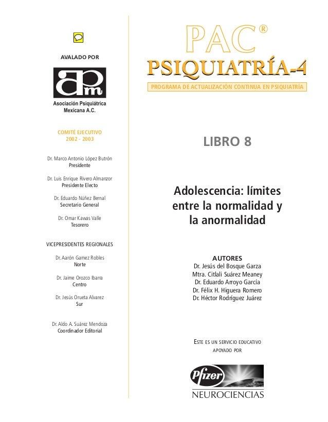 AVALADO POR COMITÉ EJECUTIVO 2002 - 2003 Dr. Marco Antonio López Butrón Presidente Dr. Luis Enrique Rivero Almanzor Presid...