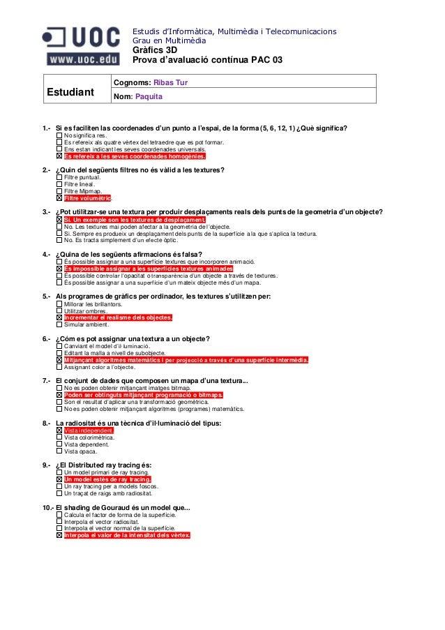 Estudis d'Informàtica, Multimèdia i Telecomunicacions                                 Grau en Multimèdia                  ...