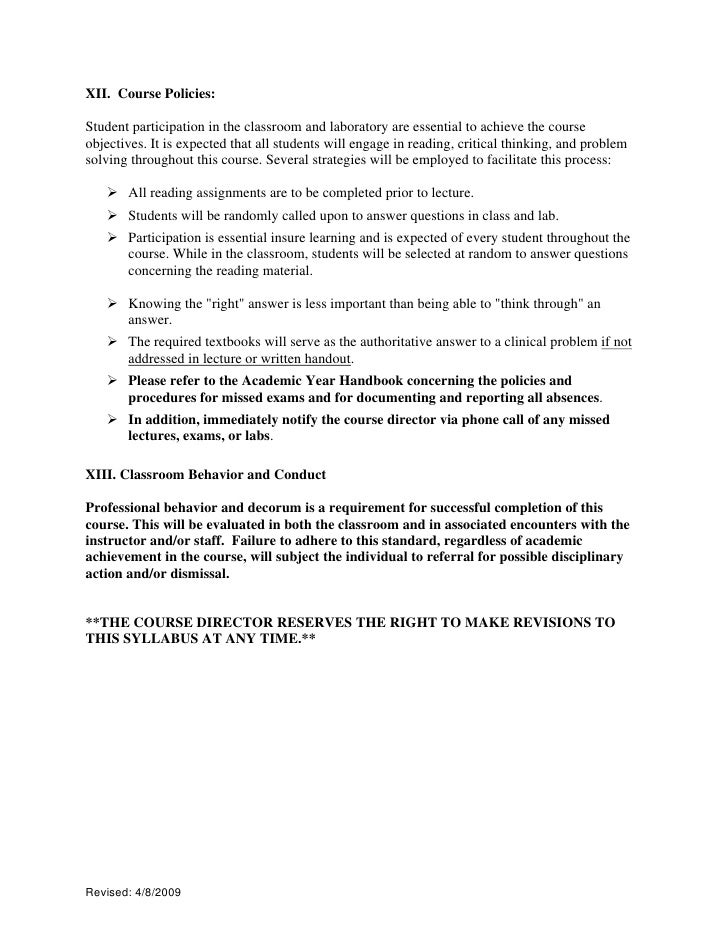 critical thinking course syllabus Course description this course is intended to fulfill executive order 595 from the  chancellor's office, which contains the following: instruction in critical thinking.