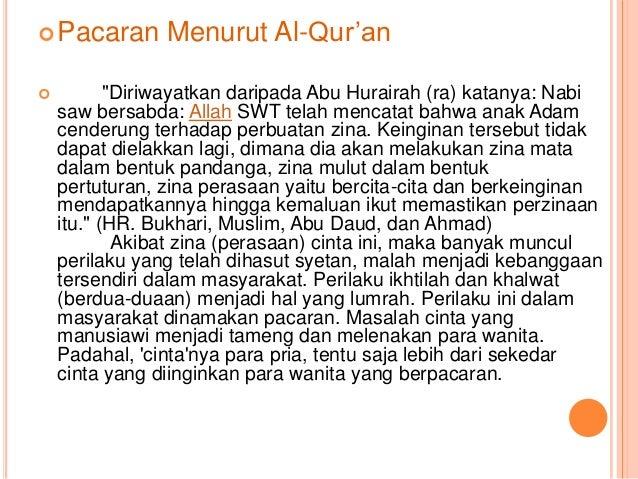 Pacaran Menurut Islam Tugas Agama New