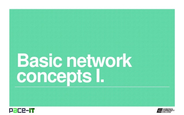part 1 illustrating basic network concepts On this video i start talking about the basic concepts of computer networks, as i studied it in my university please let me know if you enjoy this class, and if you would like me to continue into the subject.