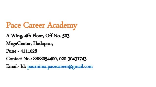 Pace career Academy   HR Training in Pune   practical HR ...