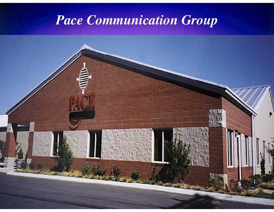Pace Communication Group
