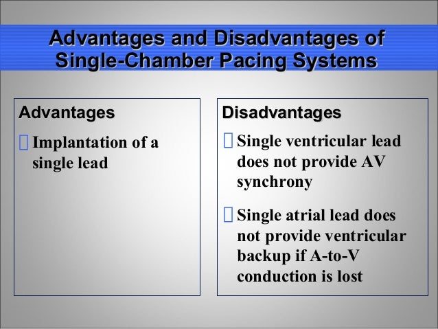 Dual Versus Single Chamber Pacemaker - Video