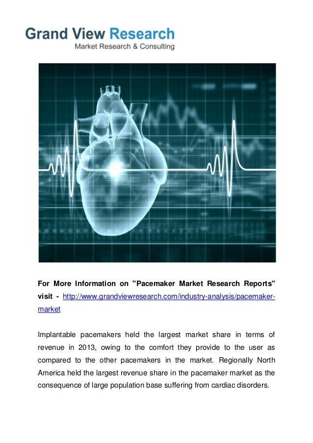pacemaker market to 2020