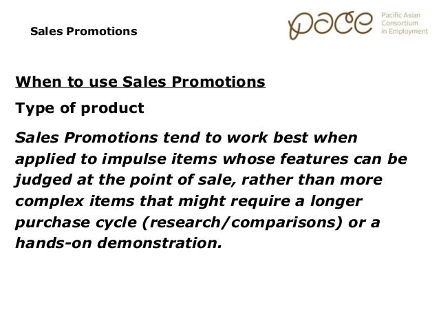 Marketing Essentials: Sales Promotions
