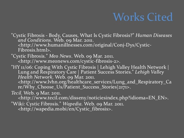 cystic fibrosis research paper thesis This is a dissertation chapter on cystic fibrosis: professional custom thesis/dissertation writing service which provides custom.