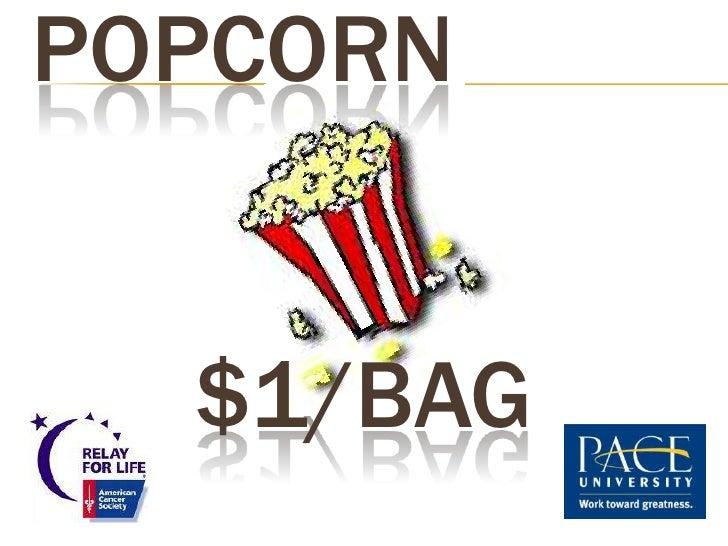 POPCORN  $1/BAG