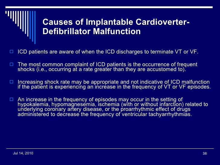 Implantable Cardioverter Defibrillator (ICD) - Dr Matthew ... |Defibrillator Surgery Risks