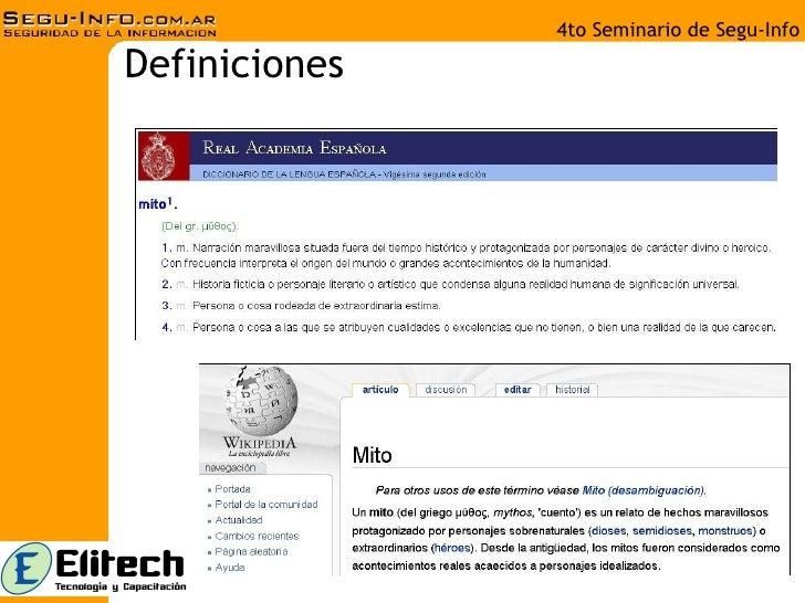 Pacheco Cazadores Mitos Seguridad Informatica Slide 3