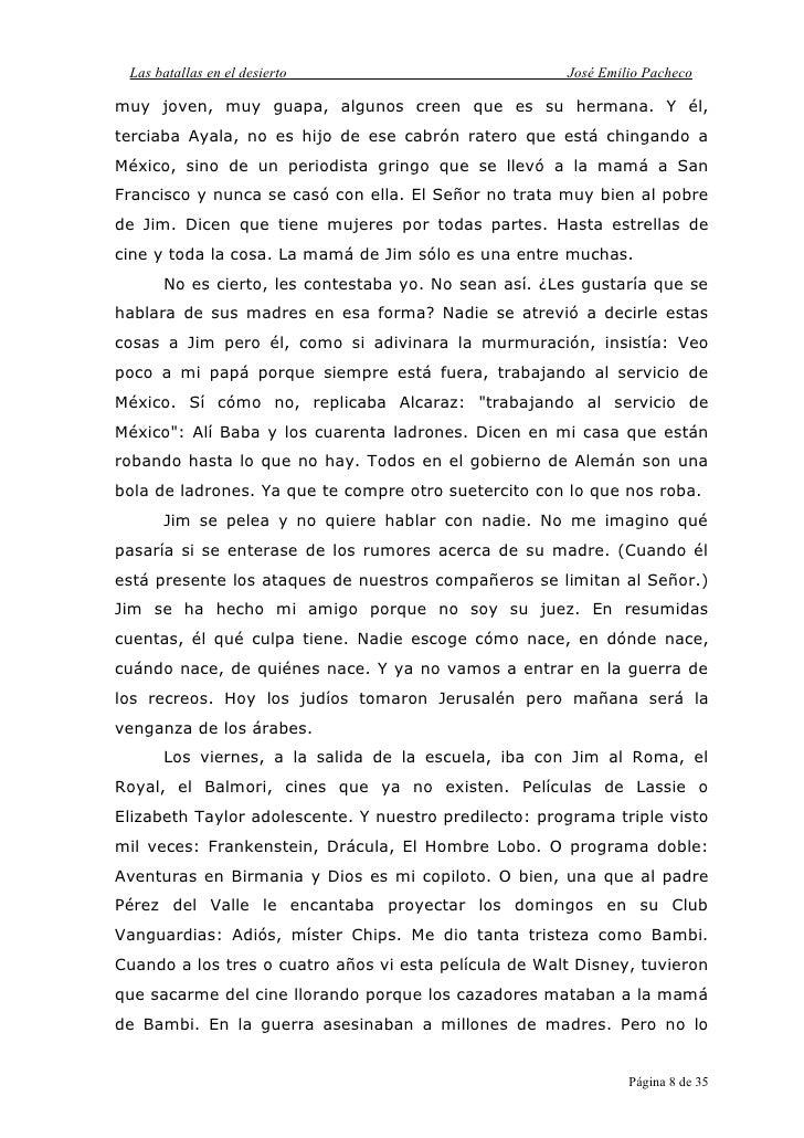 Resumen Del Capitulo Acuerdate Del Libro El Llano En