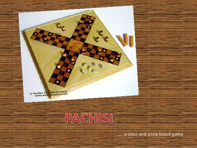 …. a cross and circle board game