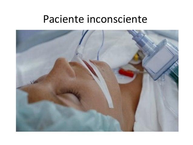 Paciente inconsciente