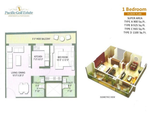 PACIFIC GOLF ESTATE (APARTMENTS & PENTHOUSE)  Terrace Garden/Lawn Areas  @ 1400 per Sq.Ft.  PLC Corner or  Sport Arena @ 1...