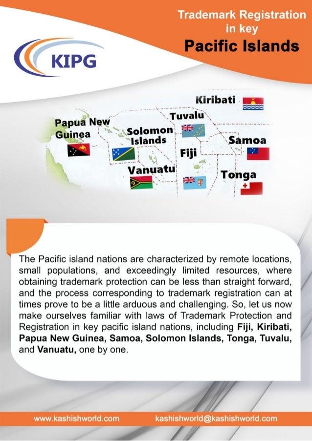 Trademark Registration- Pacific Island Nations
